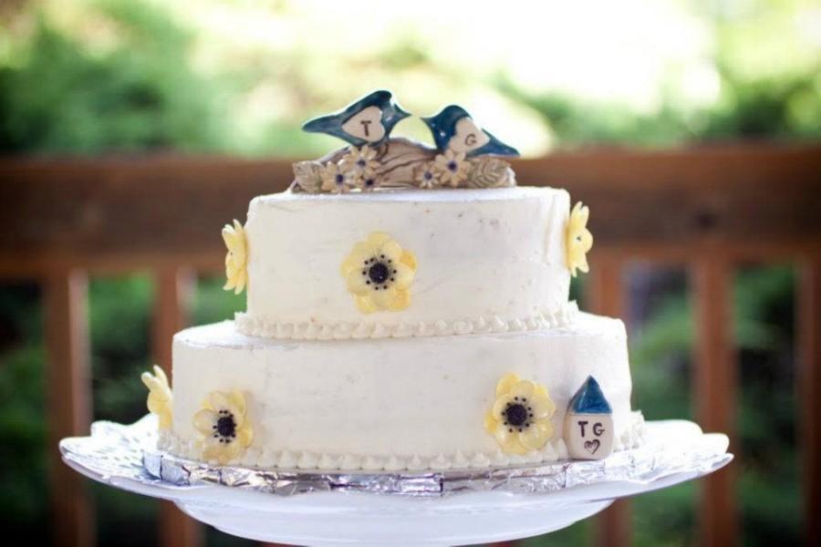 Свадьба - Unique Wedding cake topper