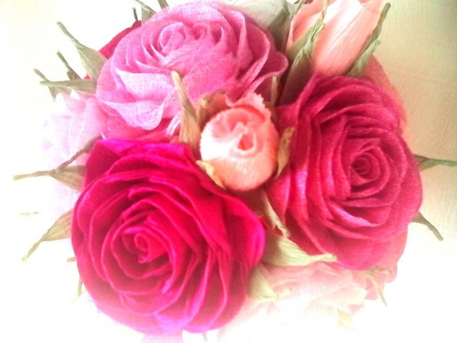 Flower crepe paper rose vatozozdevelopment flower crepe paper rose mightylinksfo