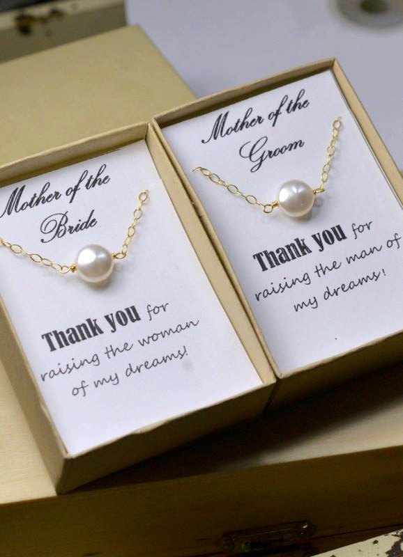 2 SETS : Two Mother Of The Bride And Groom Gifts,coin Pearl ...