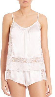 Свадьба - In Bloom Satin & Lace Camisole & Shorts