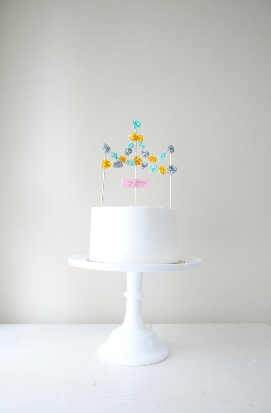 Свадьба - Festival Cake Topper
