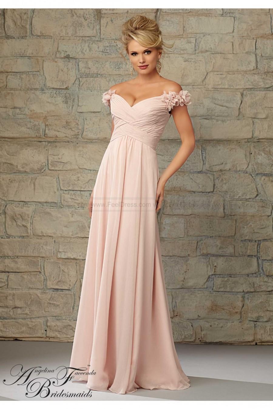 Boda - Mori Lee Bridesmaids Dress Style 20453