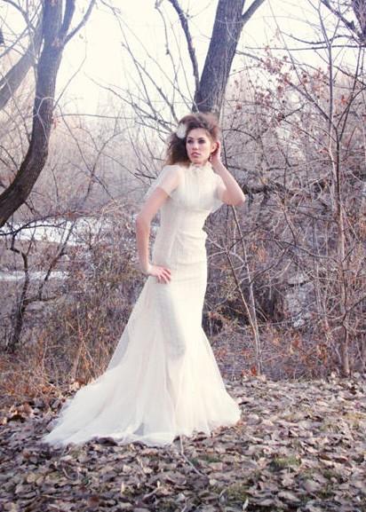 زفاف - Ivory Lace & Tulle Wedding Dress