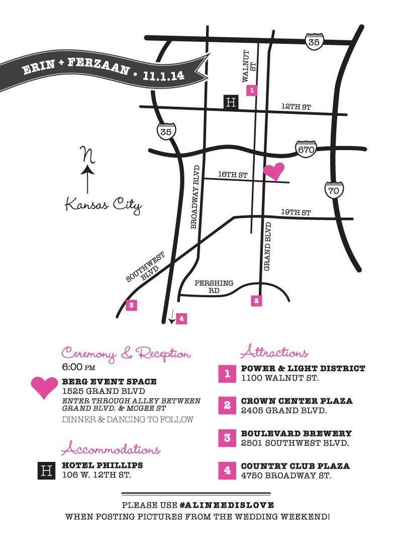 Hochzeit - Wedding Map Custom Design / Printable DIY digital PDF / Event Party / Ceremony to Reception