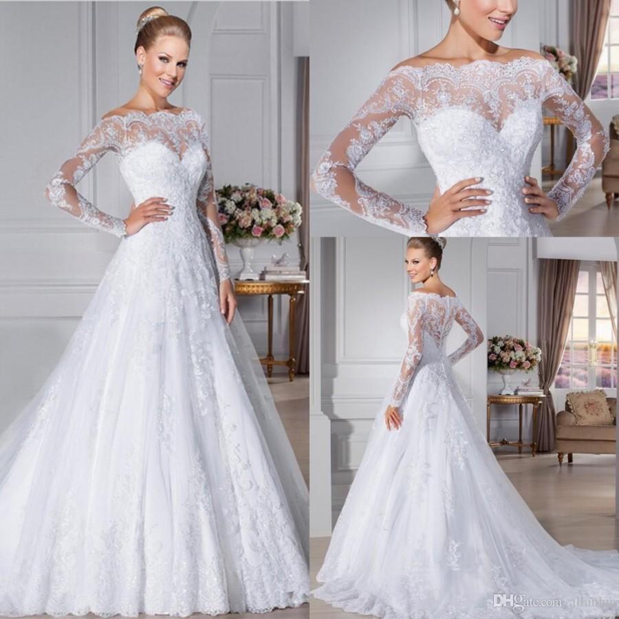 Wedding - vestidos de novia robe de mariage
