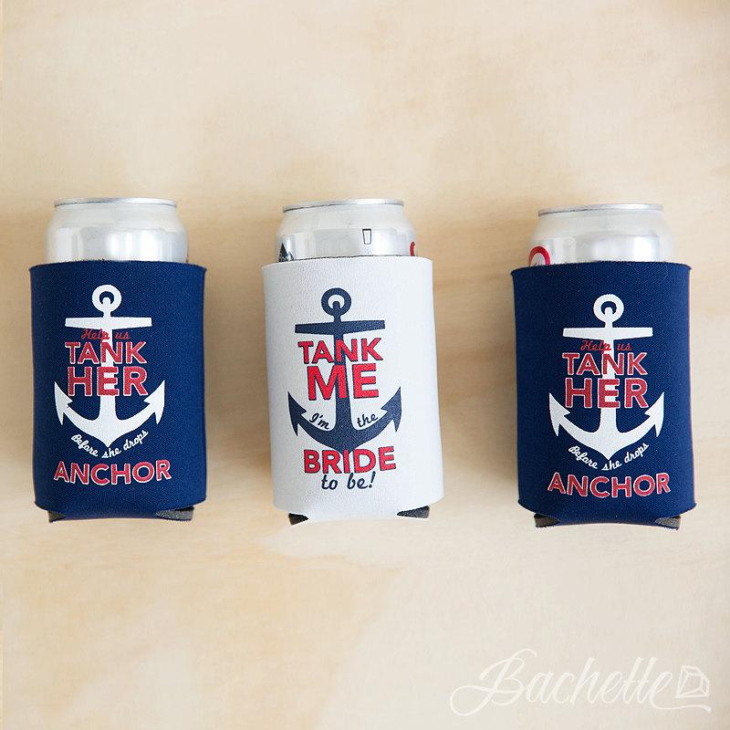 Свадьба - Bachelorette Party Beer Can Coolers