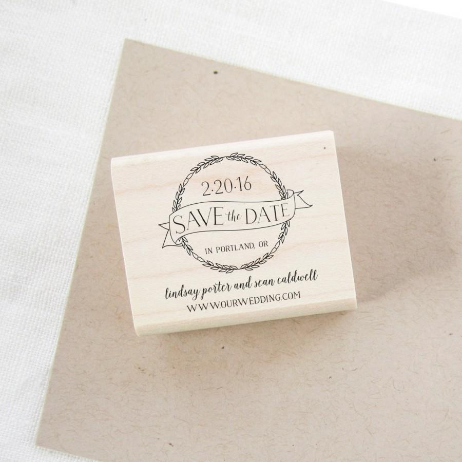 444fe1baf8 Save The Date Stamp - Wedding Invitation Stamp - Wedding Stamp ...