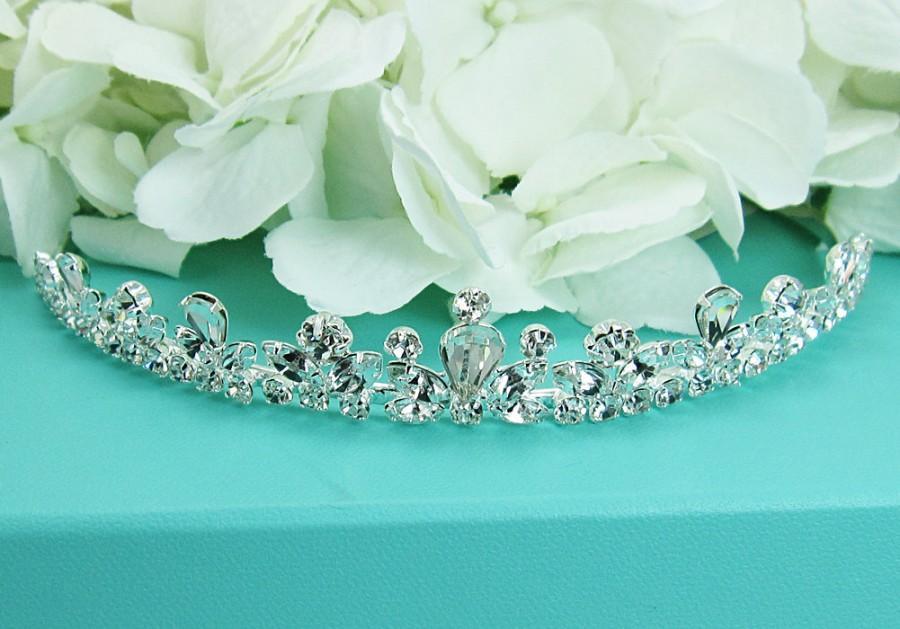 Mariage - Rhinestone Bridal tiara headpiece, wedding tiara, wedding headpiece, rhinestone tiara, crystal tiara, crystal bridal accessories 210701830