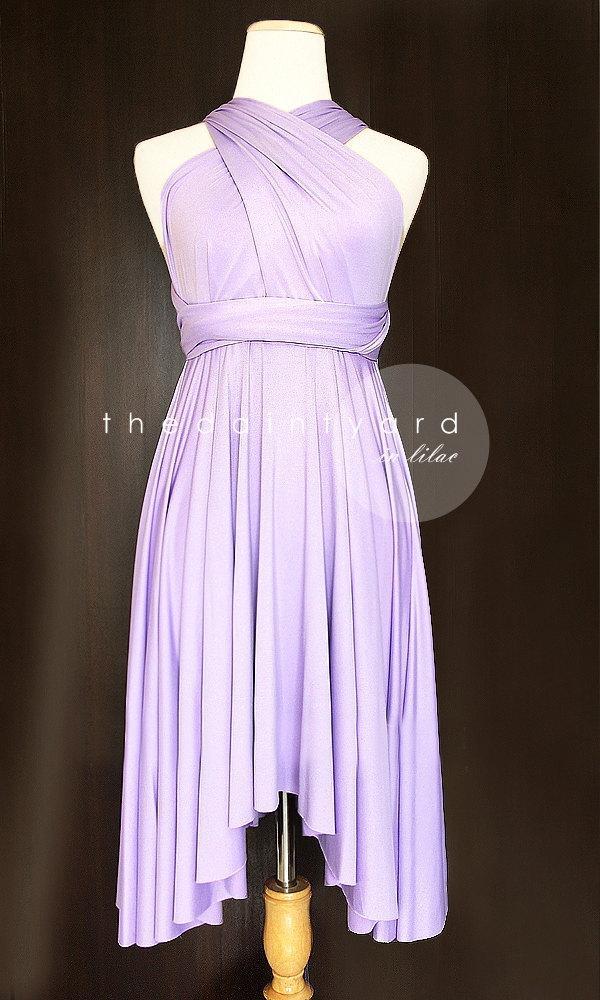 Свадьба - Lilac Bridesmaid Dress Convertible Dress Infinity Dress Multiway Dress Wrap Dress Wedding Dress Maid of Honor Dress Prom Dress Twist Dress