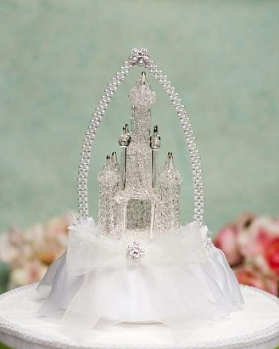 Mariage - Cinderella Castle Cake Topper with Arch - 100673