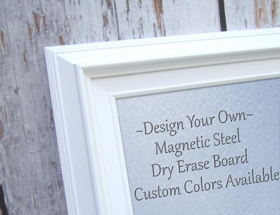 Magnet Boards For Decorative White Framed Magnetic Board Dry Erase Office Decor Large 29 X25 Organizer