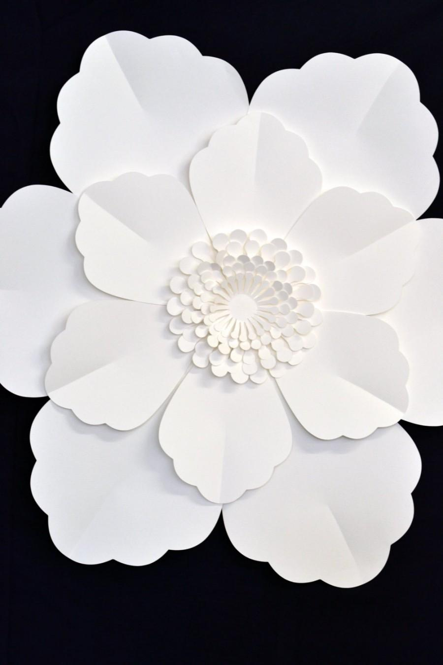 Giant 2 ft paper flower for wedding decoration 2451962 weddbook giant 2 ft paper flower for wedding decoration mightylinksfo