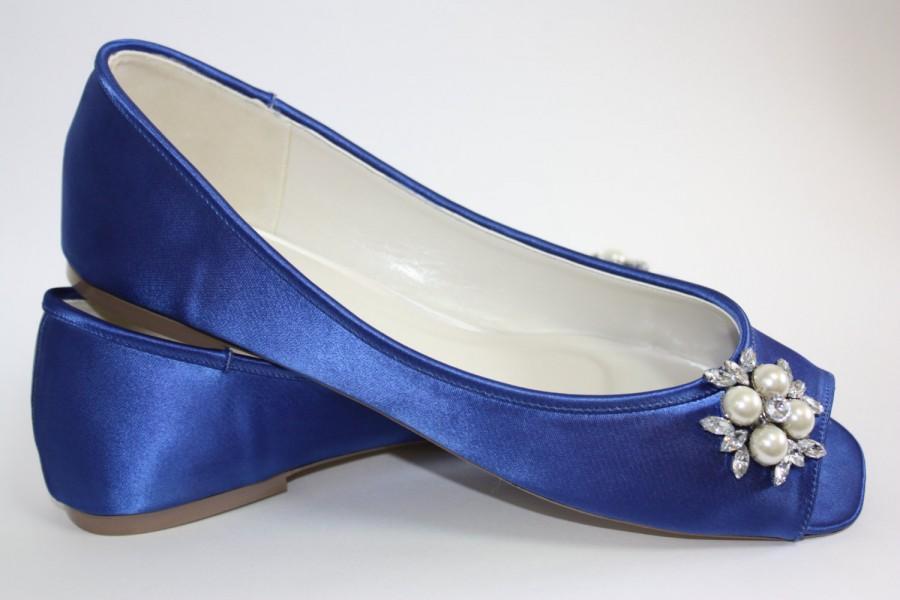 Blue Wedding Shoe