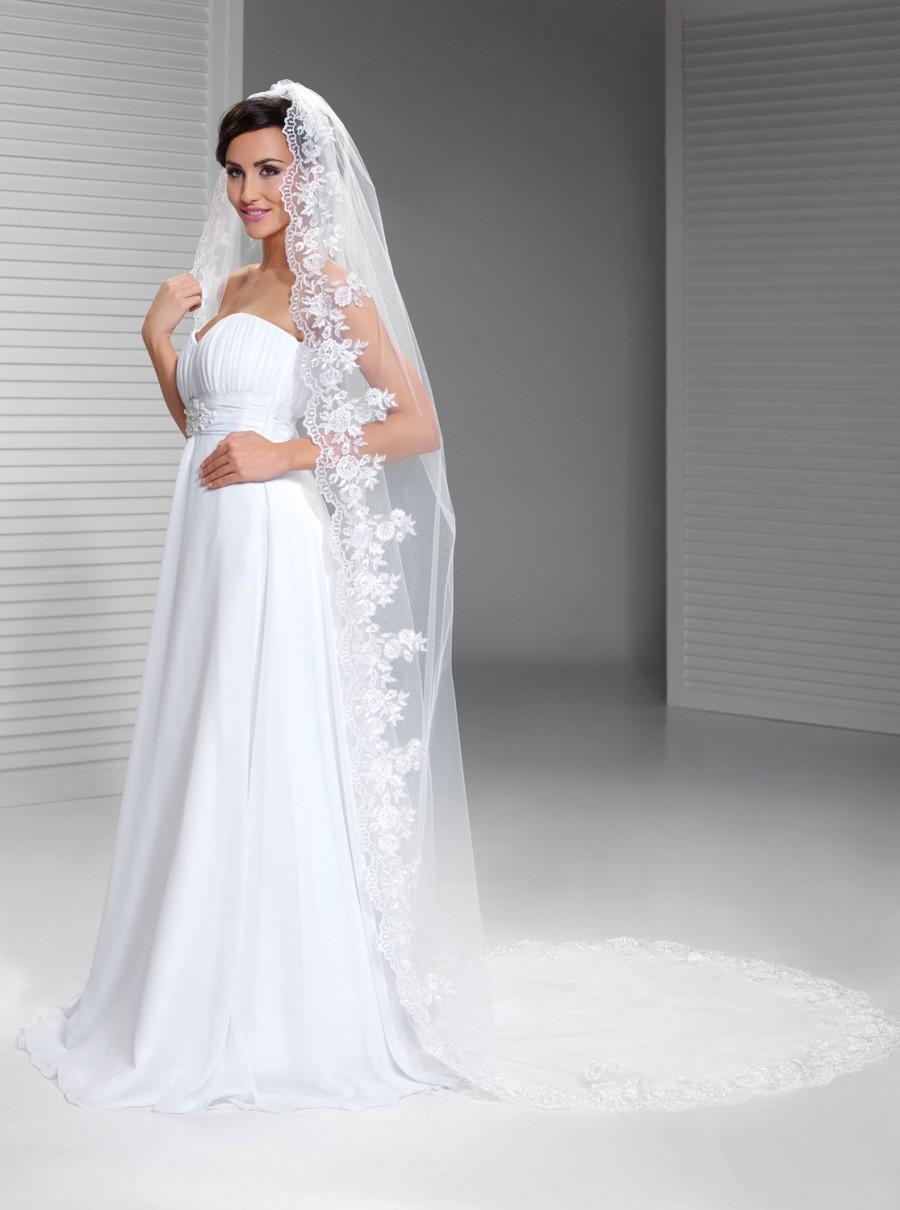 Cathedral Veil Mantilla Spanish Wedding Bridal Lace