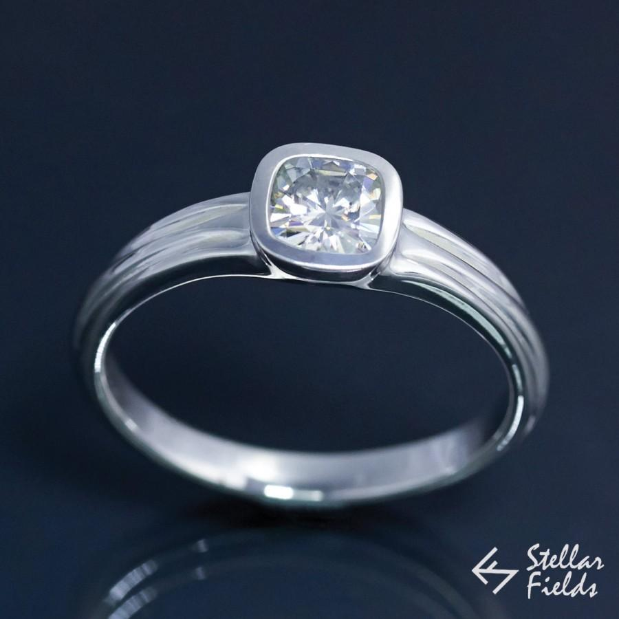 Modern Engagement Rings modern wedding rings Click here to view this single stone platinum modern ring ID