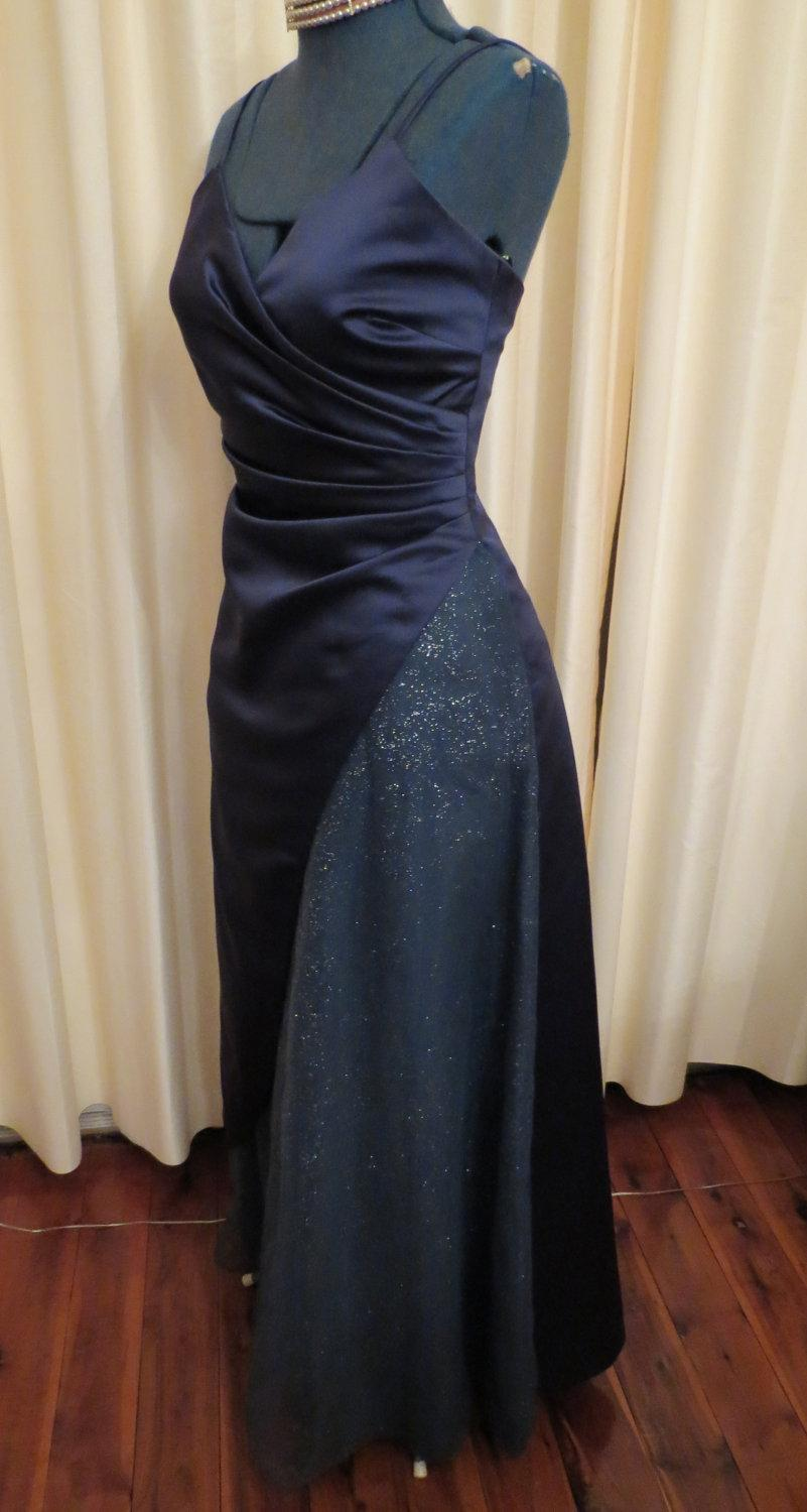 Mariage - Vintage Mr K and Co. Formal Prom Dress Made in  Australia