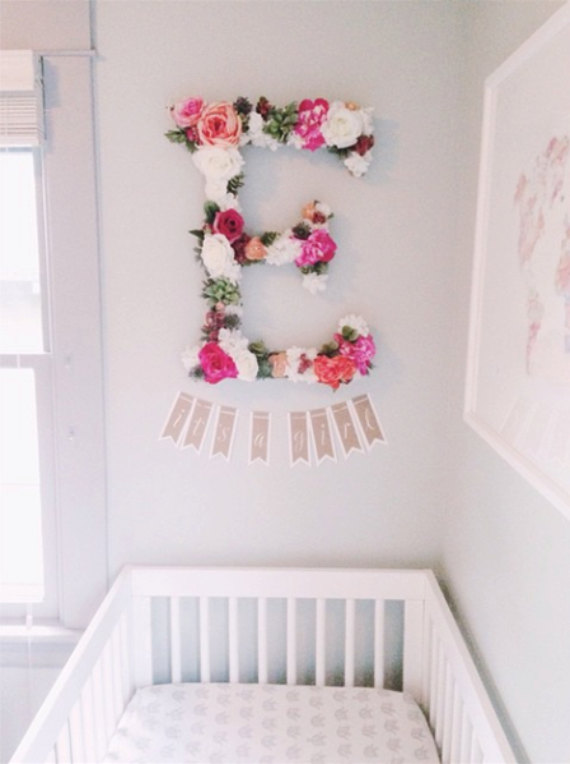 Mariage - The Ellody - Custom Floral Letter