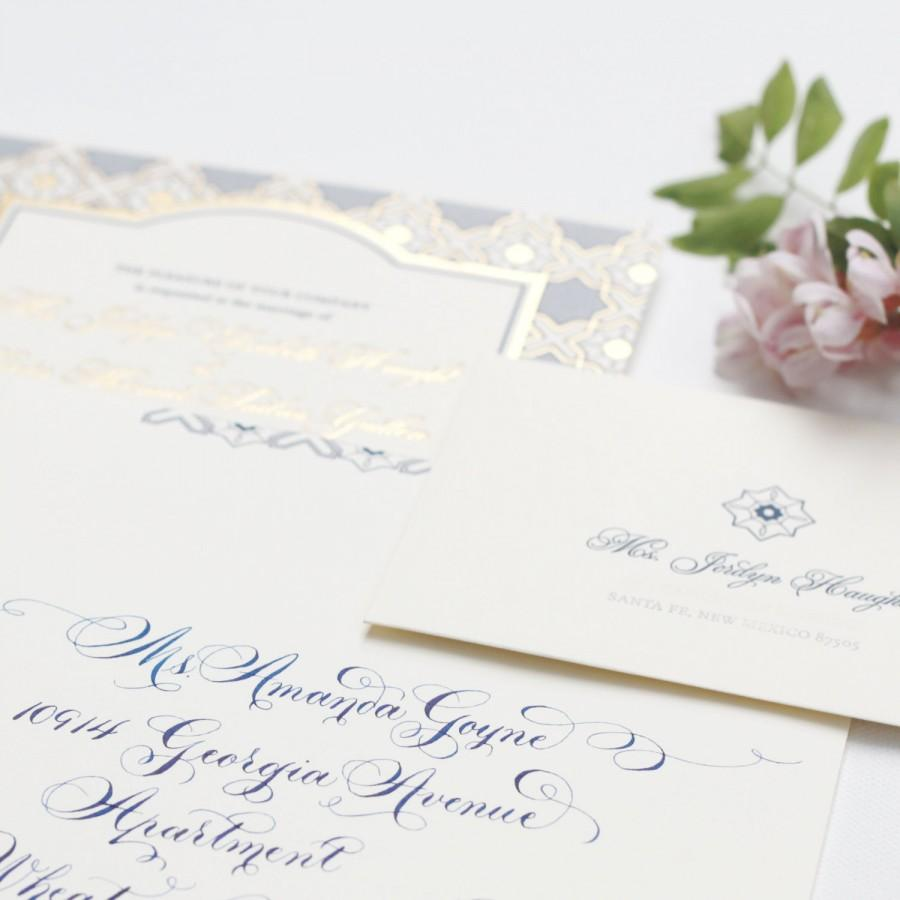 Wedding - Envelope Addressing, Calligraphy, Invitation, Save the Date, Announcement handwritten mail
