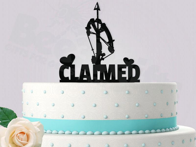 Mariage - Claimed (Daryl The Walking Dead) Cake Topper