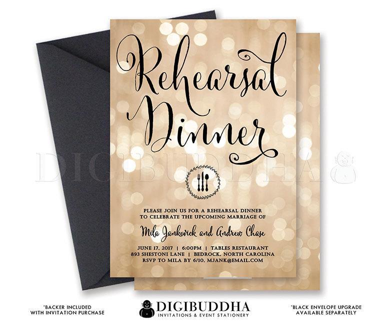 Wedding Rehearsal Dinner Invitations Free wedding invitation – Printable Dinner Invitations