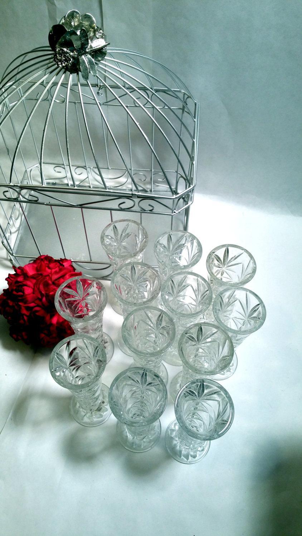 Bud vases wedding decor dozen cut glass bud vase set clear glass bud vases wedding decor dozen cut glass bud vase set clear glass tea party decor wedding shower decor reviewsmspy