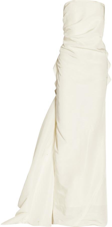 Свадьба - Lanvin Silk-Faille Gown