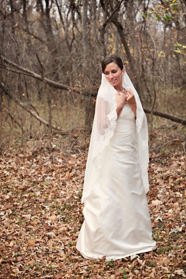 Mariage - Mantilla - Fingertip Length Veil