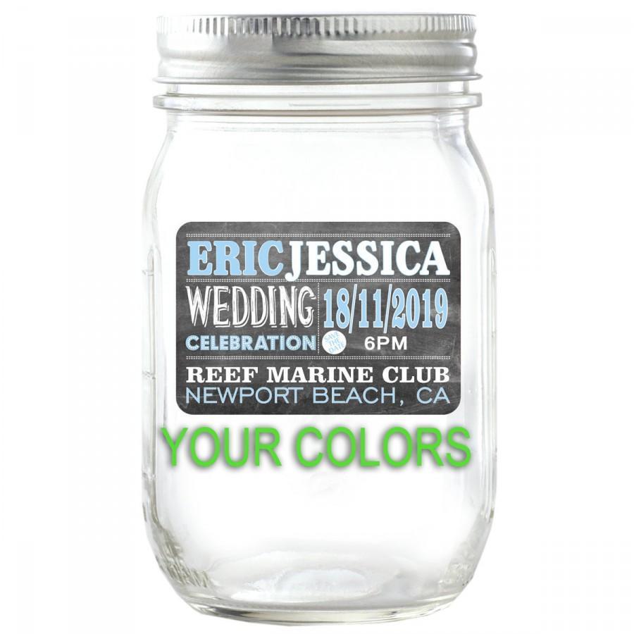 wedding jar labels - Roho.4senses.co