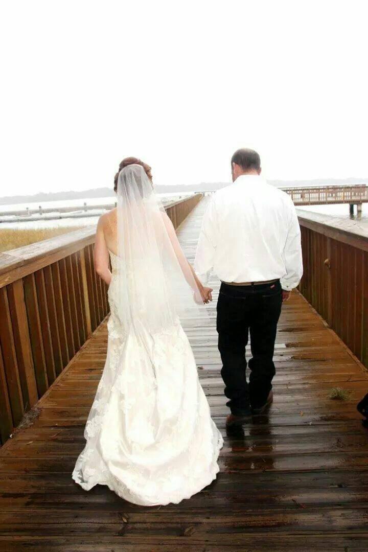 زفاف - Wedding Drop Veil Cut Edge Waist Length, Bridal Veil 30X36CE