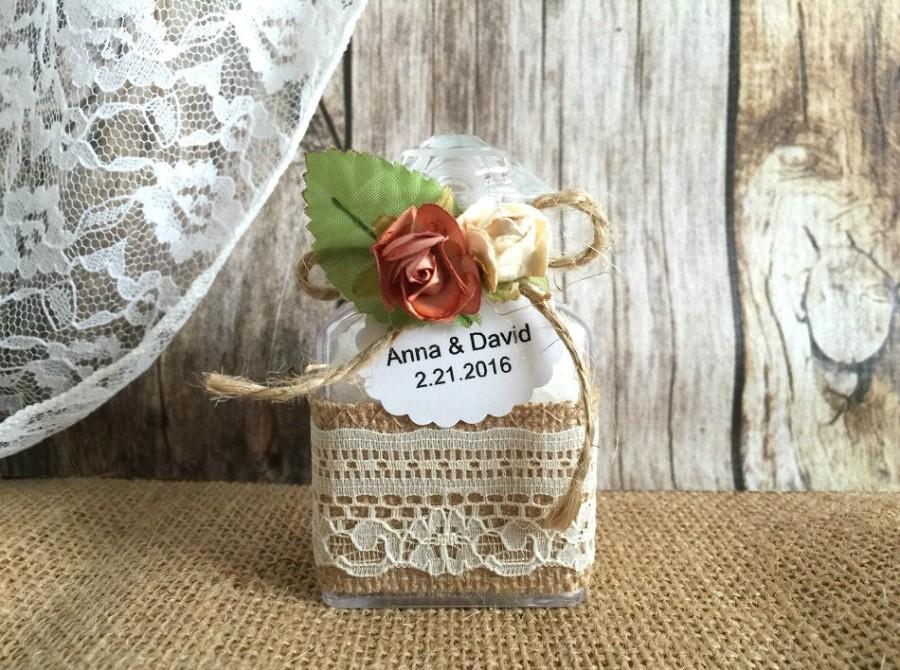 Hochzeit - bath salt Wedding favors - bridal shower favors