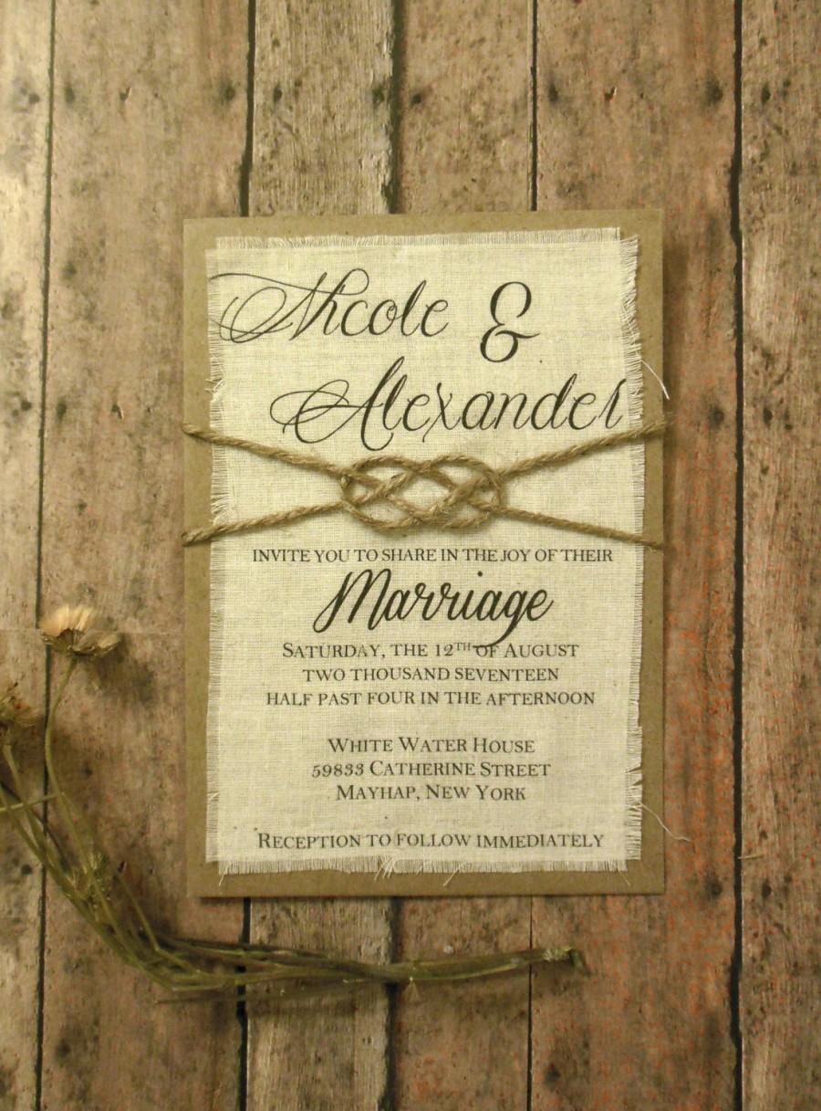 Rustic Wedding Invitations Gold Wedding Invitations Blush Wedding Invitations Romantic