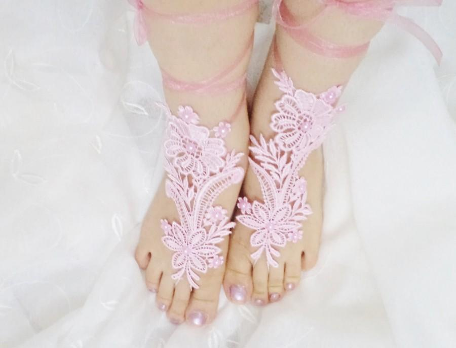 Sandals Wedding Shoes Beach Bridal Barefoot Sandles Accessories