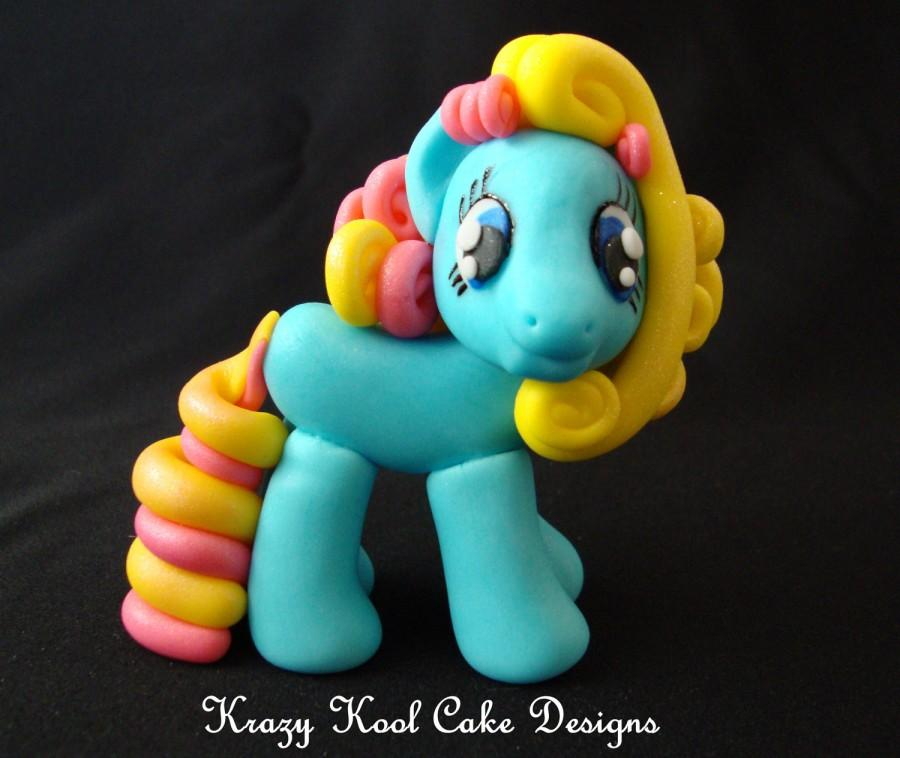 Mariage - Little Pony Cake Topper In Blue