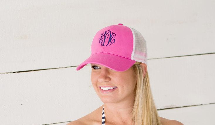 Свадьба - Ladies/Gals Trucker Hat Cap - A Great Gift Idea! See our listing for ALL AVAILABLE Colors!