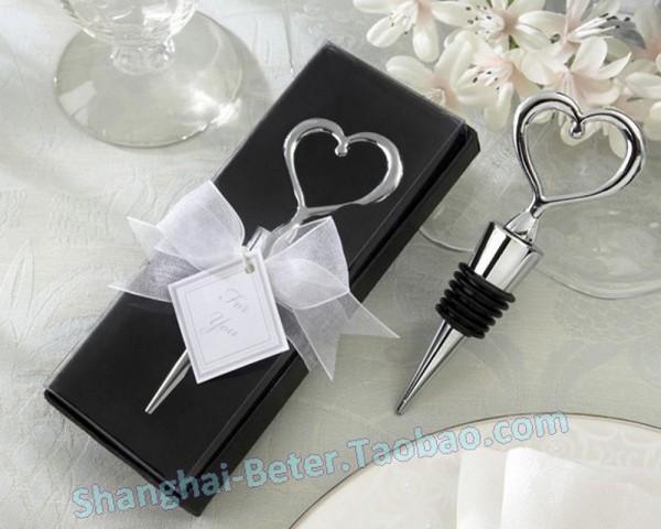 Mariage - Chrome Heart Bottle Stopper Bride Gift Ideas BETER-WJ001/A