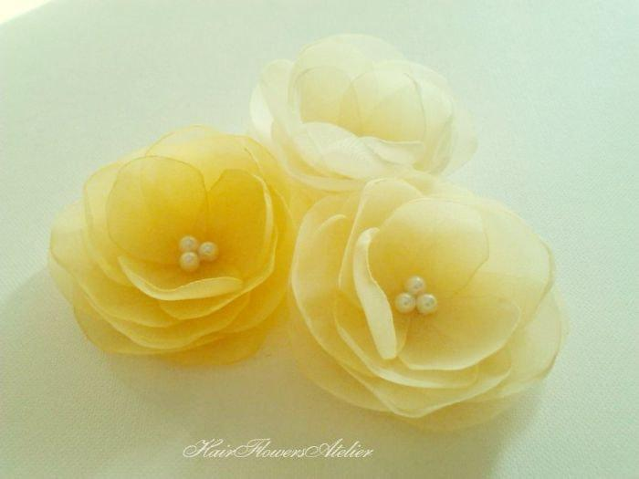 Wedding yellow hair flowers bridal yellow hair clips pale yellow wedding yellow hair flowers bridal yellow hair clips pale yellow bridal hair clips yellow wedding pale yellow headpiece yellow flower girl mightylinksfo Choice Image