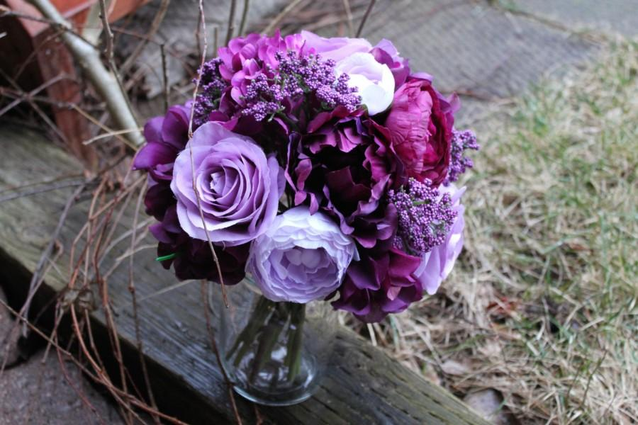 Rustic plum purple lavender and cranberry bouquet peonies roses rustic plum purple lavender and cranberry bouquet peonies roses hydrangea ranunculus and berries wrapped in twine mightylinksfo