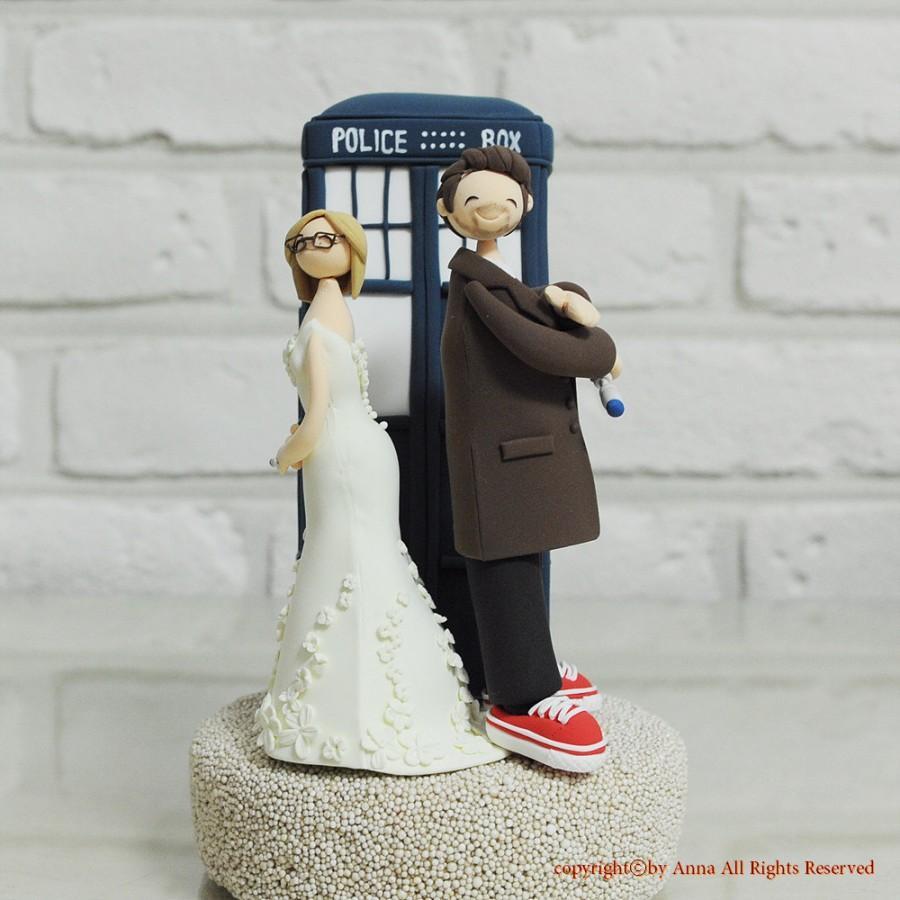 Doctor Who Wedding Cake Topper Decoration Gift Keepsake 2456277