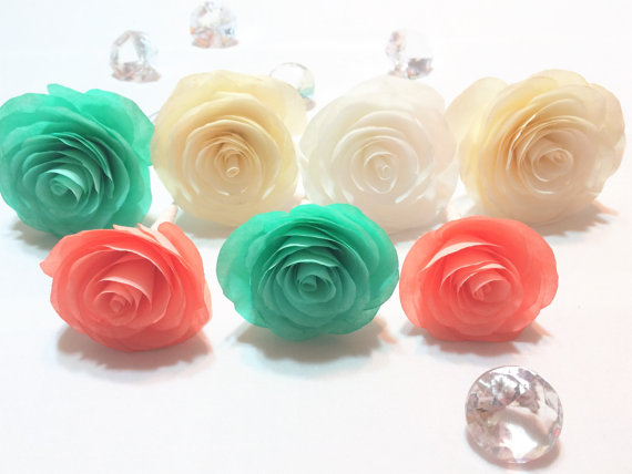 Paper cabbage rose coffee filter roses artificial flowers fake paper cabbage rose coffee filter roses artificial flowers fake flowers coral flowers floral arrangements paper flowers roses mightylinksfo