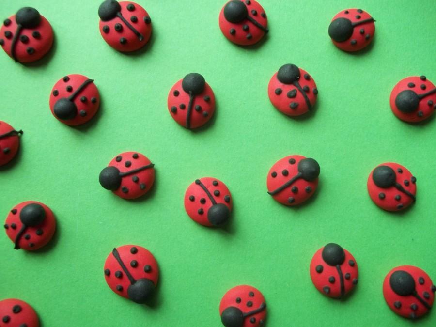 How To Make Edible Ladybug Cake Decorations
