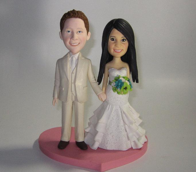 CUSTOM Cake Topper, Wedding Cake Topper , Cartoon Cake Topper ...