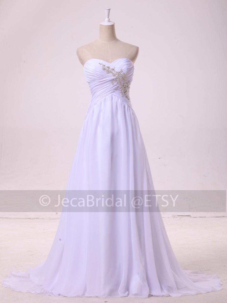 Simple Summer Wedding Dress Beach Wedding Dress Casual