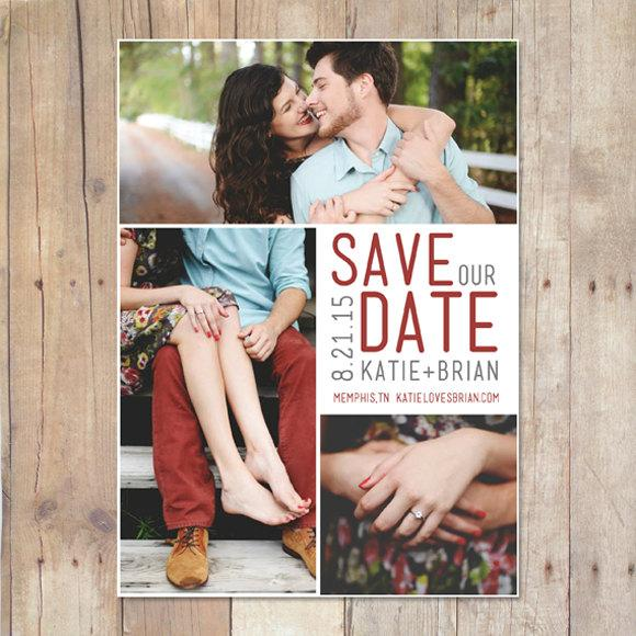 زفاف - Save the Date Template, DIY Save The Date, Photographers Photography INSTANT DOWNLOAD