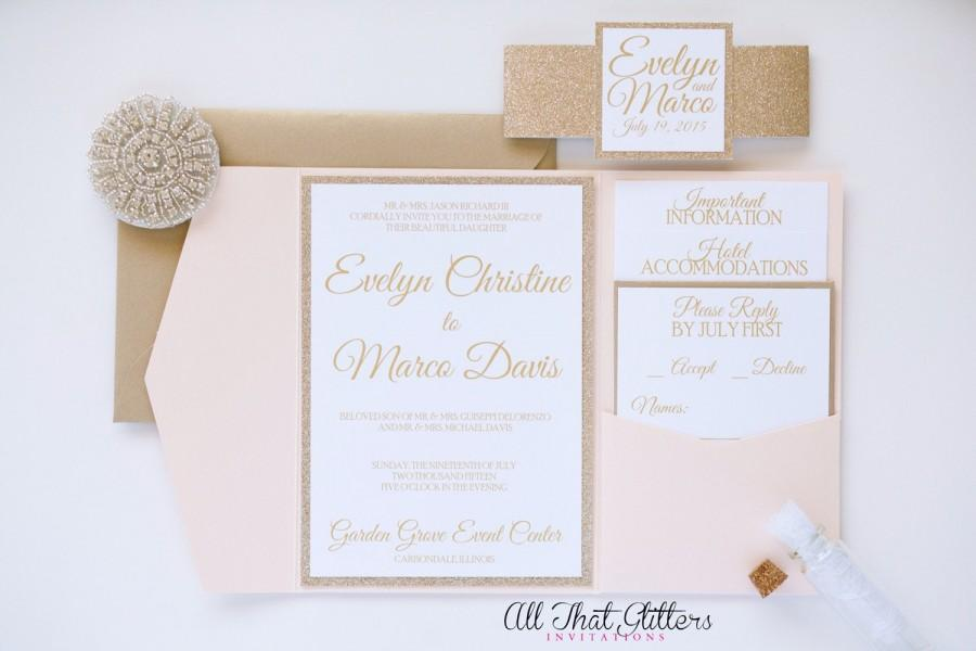 invitation glitter wedding invitation 2457687 weddbook
