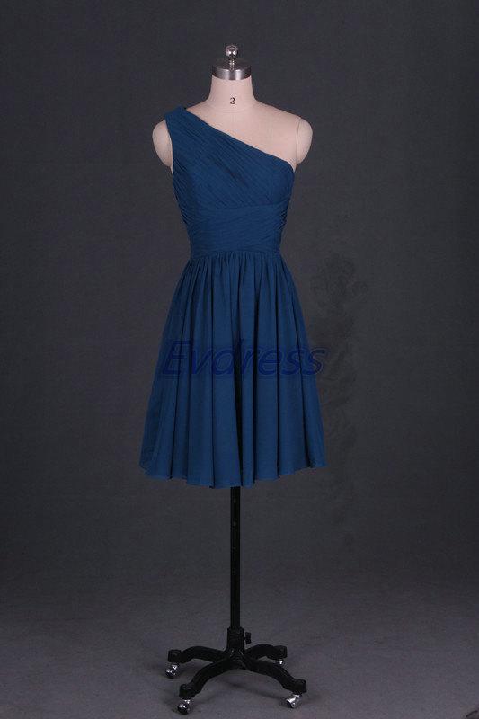 Short chiffon bridesmaid dresses 2015 affordable one for Short cheap wedding dresses under 100