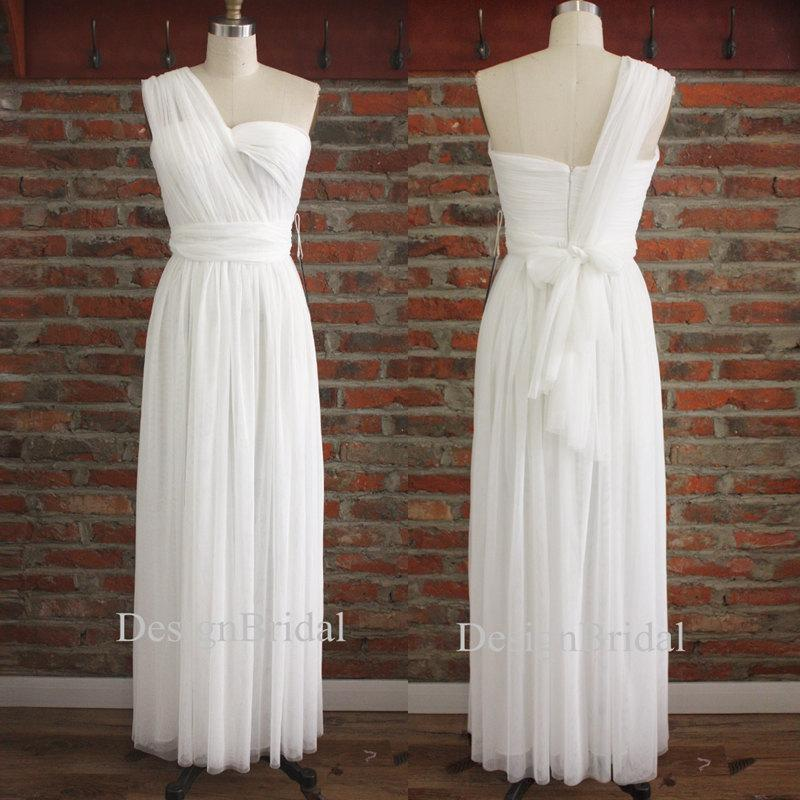 174feaf865 White Infinity Bridesmaid Dress