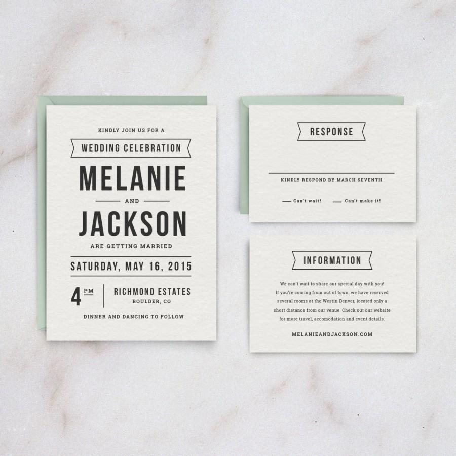 Wedding Invitation DIY Printable Template #2457882 - Weddbook