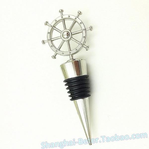 Düğün - Sweet Sixteen Ship's Wheel Nautical Bottle Stoppers WJ114