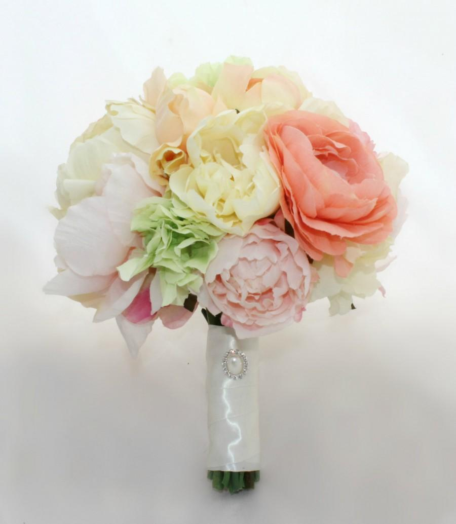Mariage - Summer Sorbet Bridal Bouquet