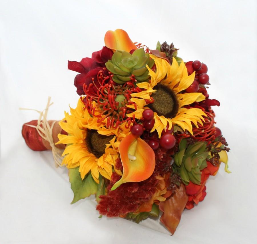 Свадьба - SALE Juicy Autumn Bounty Bouquet
